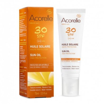 Huile Solaire SPF 30 Haute Protection