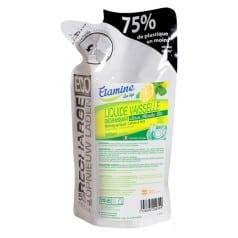 Eco-Recharge Liquide Vaisselle Dégraissant Citron-menthe