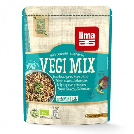 Vegi Mix Boulghour, Quinoa et Pois Chiches