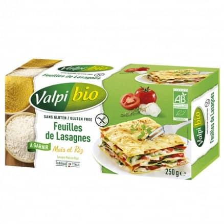 Feuilles de Lasagnes Maïs-Riz