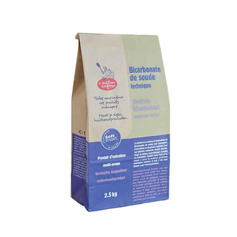 Bicarbonate de soude technique 2 5 kg la droguerie cologique for Bicarbonate de soude et calcaire