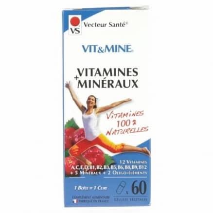 Vit & Mine Vitamines & Minéraux