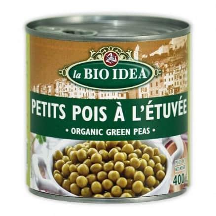 Bio Idea Petits Pois à l'Etuvée 400 g
