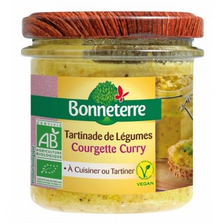 Tartinade de Légumes Courgette Curry