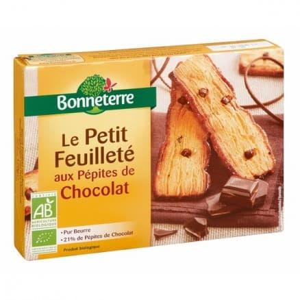 Petit Feuilleté aux Pépites de Chocolat