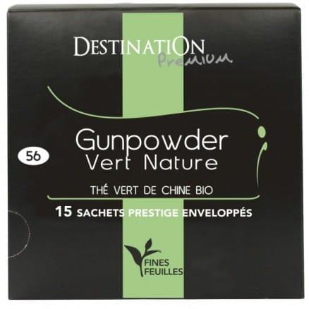 Thé vert nature de Chine Gunpowder