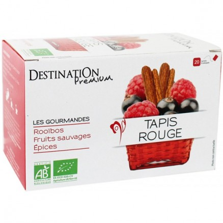 Destination Infusion Gourmande Tapis Rouge Rooibos x20