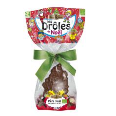 Père Noël Chocolat au Lait & Crousty aux 3 Chocolats