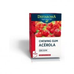 Chewing gum Acérola