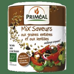 Mix' Saveurs aux graines entières & aux lentilles