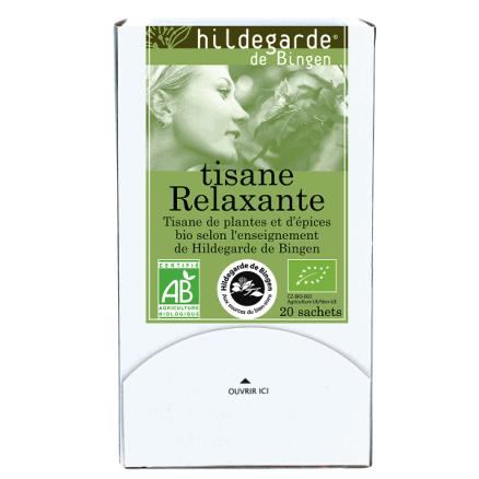 Hildegarde De Bingen Tisane Relaxante x20