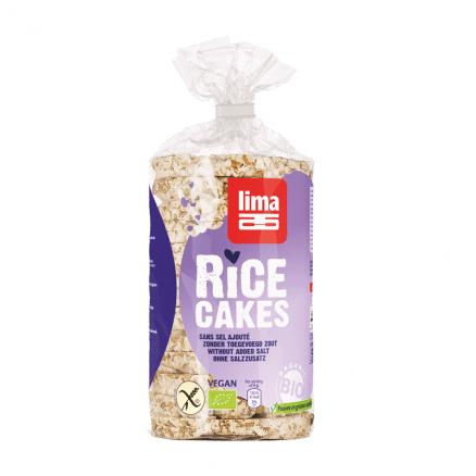 Galettes de riz sans sel lima