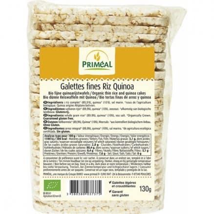 Galettes Fines Riz Quinoa
