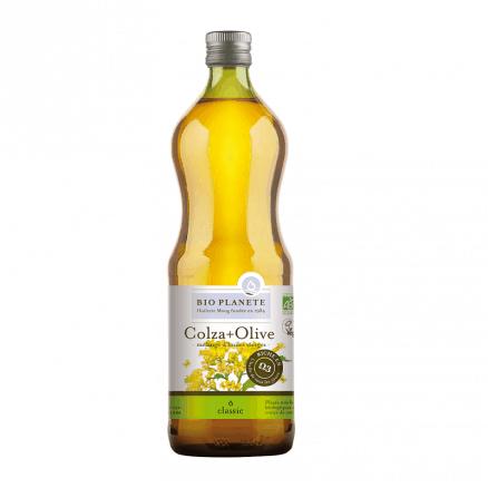 Bio Planète Huile Vierge Colza + Olive 1 L