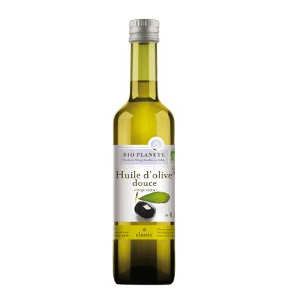 Bio Planète Huile d'Olive Douce Vierge Extra 500 ml