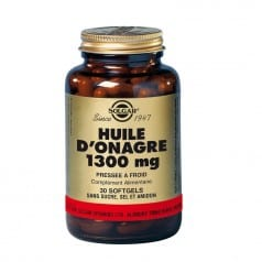 Huile d'Onagre 1300 mg