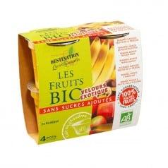 Purée de Fruits Banane Mangue Fruit de la Passion