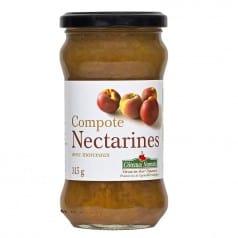 Compote de nectarines