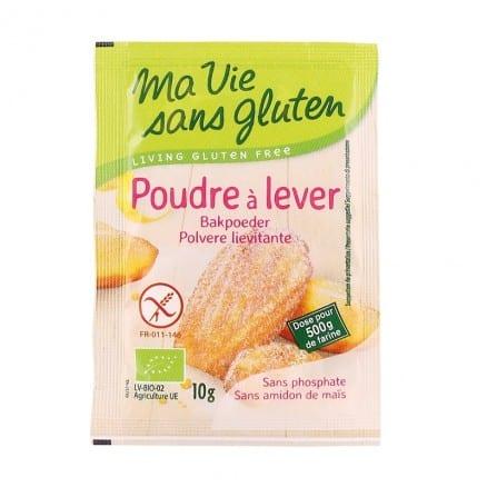 Ma vie sans Gluten Poudre à Lever Sans Gluten 4x10 g