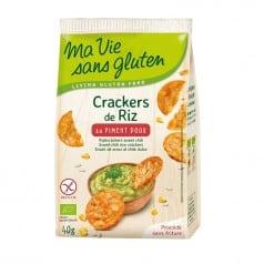 Crackers de Riz Piment Doux