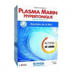 Cure Plasma Marin Hypertonique