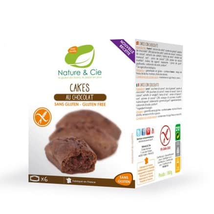 Cakes au Chocolat Sans Gluten