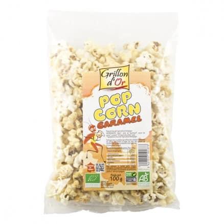 Grillon d'Or Pop Corn Caramel 100 g
