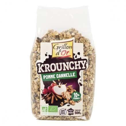 Grillon d'Or Krounchy Pomme Cannelle 500 g