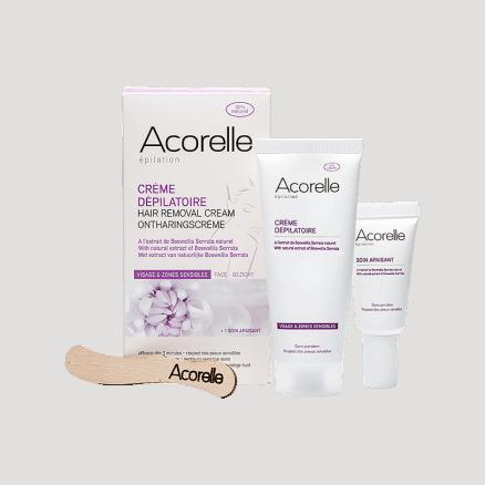 Acorelle Crème Dépilatoire Visage & Maillot 75 ml