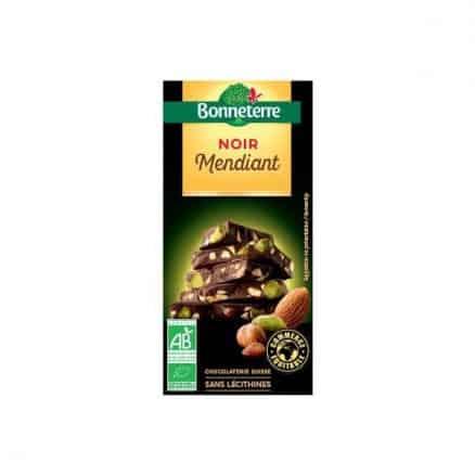 Bonneterre Chocolat Noir Mendiant 100 g