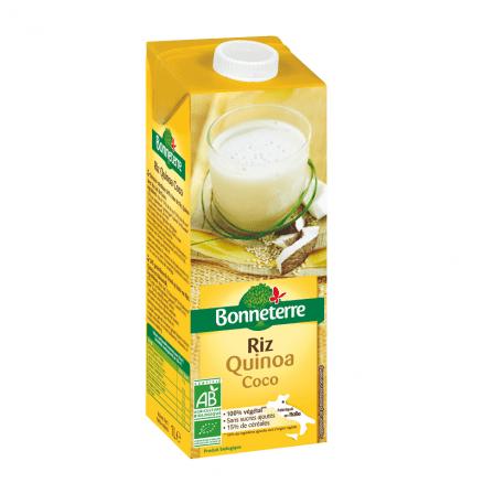 Bonneterre Boisson Riz Quinoa Coco 1 L
