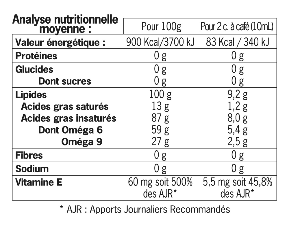 huile Equihuil bio 500 ml