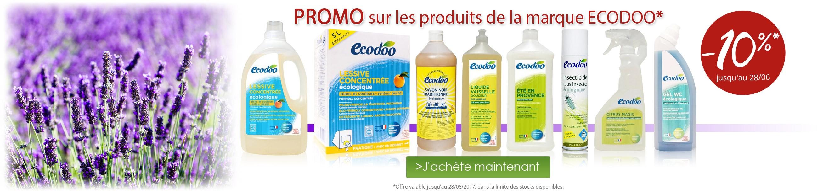 -10% sur la marque Ecodoo