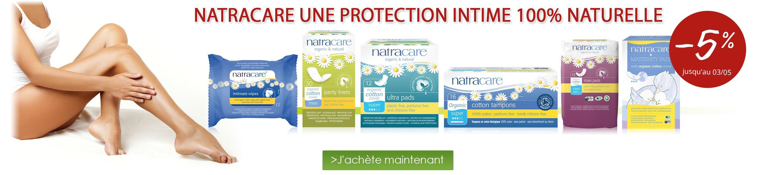 -5% sur toute la marque Natracare