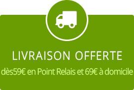 Livraison gratuite à partir de 59€