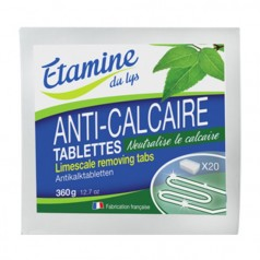 Tablette anti calcaire