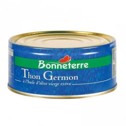 Thon Germon à l'Huile d'Olive Vierge Extra Bio