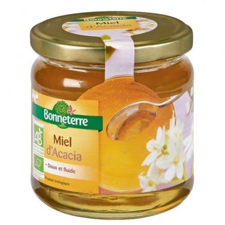 miel d'acacia et estomac
