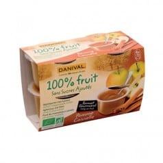 Purée 100% Fruit Pomme Cannelle