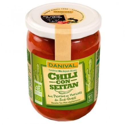 Chili Con Seitan Poivrons & Haricots du Sud-Ouest