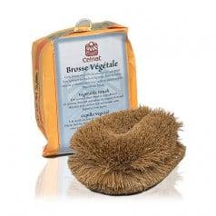Brosse végétale en paille de coco