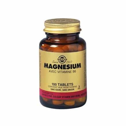 magnesium vitamine b