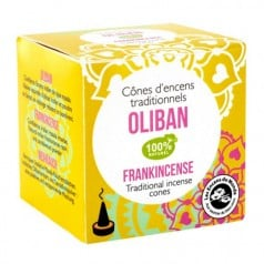 Cônes d'Encens Traditionnels Oliban