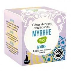 Cône d'encens Indien Myrrhe