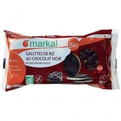 Galettes de Riz Chocolat Noir