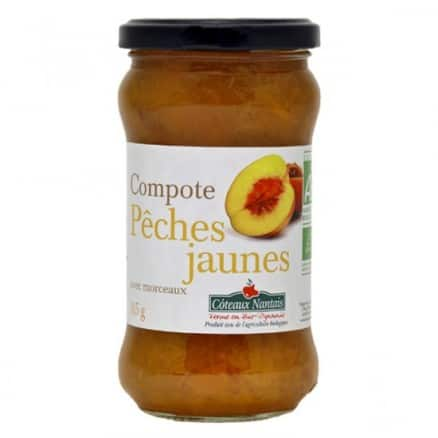 Compote Pêches Jaunes
