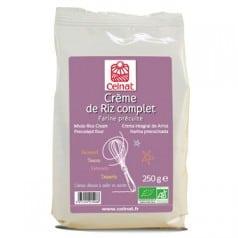 Crème de Riz Complet farine précuite
