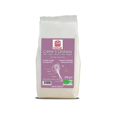 Crème 5 Céréales farine précuite