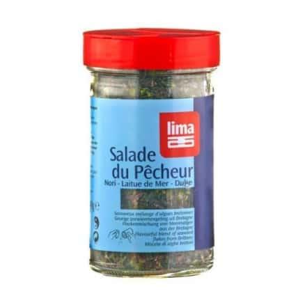 Salade du pêcheur en paillettes