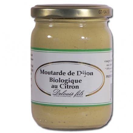 Moutarde de Dijon au Citron